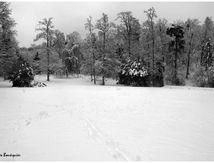 Creil, un jour sous la neige