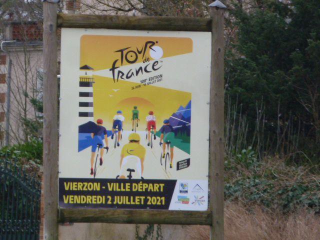 La ville aux couleurs du Tour de France