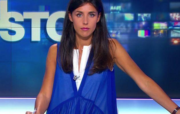 SOPHIE HEBRARD 💙💘💙 pour NON-STOP le 2016 07 31 sur BFM TV