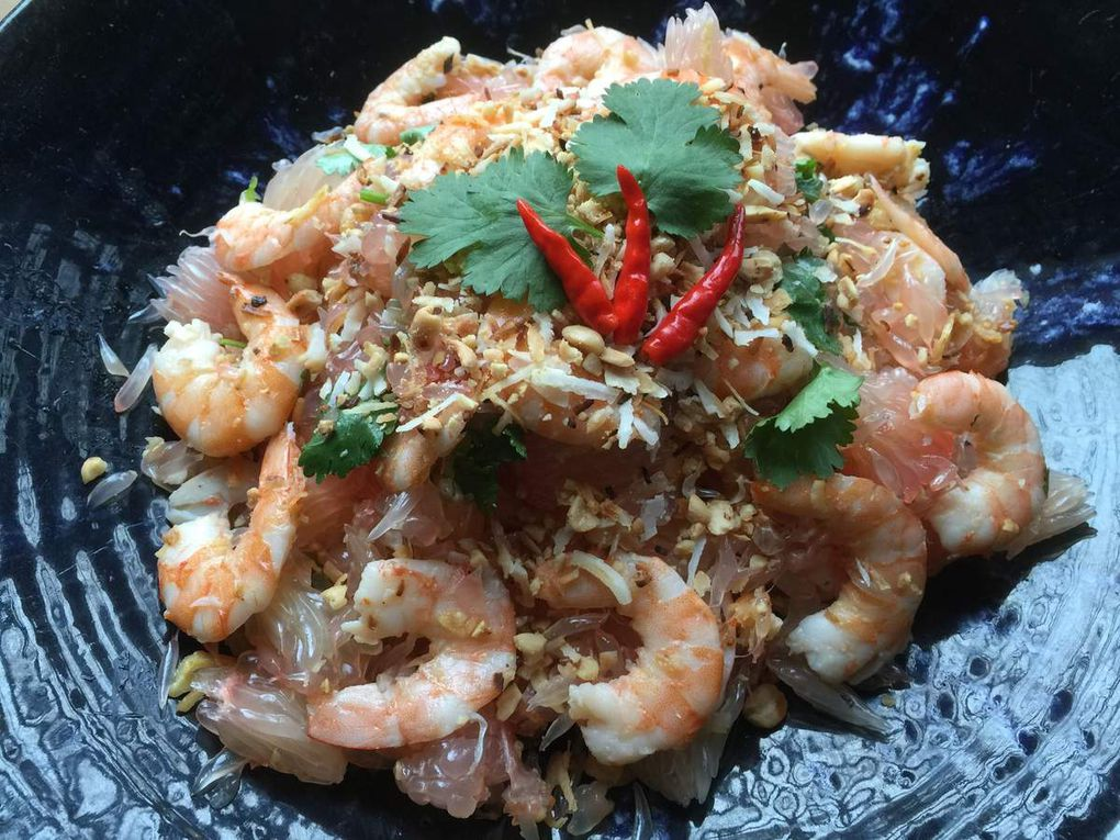 Pomelo salad - Nhoam Krauch Thlong