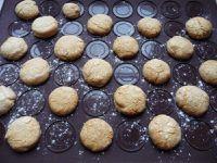 Macarons craquelés à la crème de spéculoos