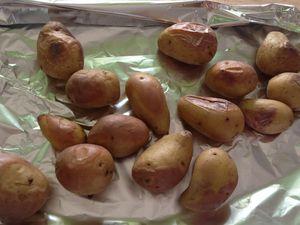 Cuisson des pommes de terre