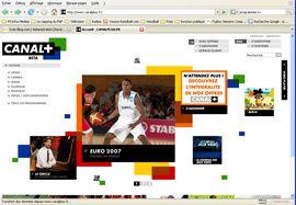 Canal + lance son nouveau site en ce moment !