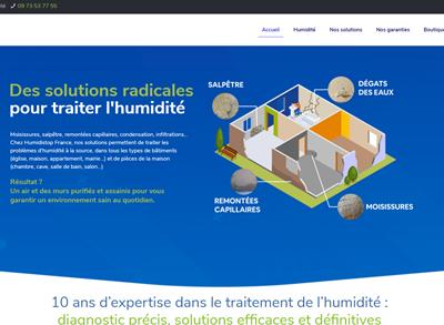 Nouveau site humiditop-france.fr