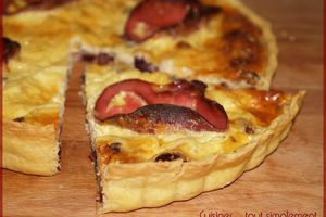 Quiche Cranberries - Bacon