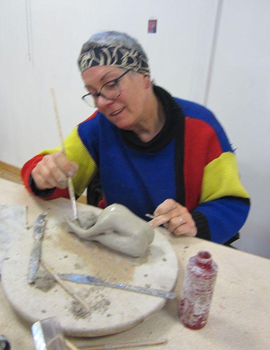 Atelier modèle vivant sculpture
