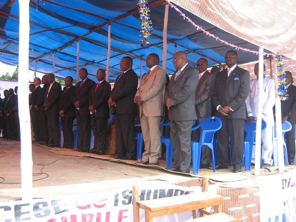 Mgr Jean-Adalbert NYEME TESE  décédé à Tshumbe, le 26 novembre 2010