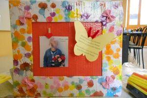 Fête des mamans (cadre-photo) chez Sylvie R
