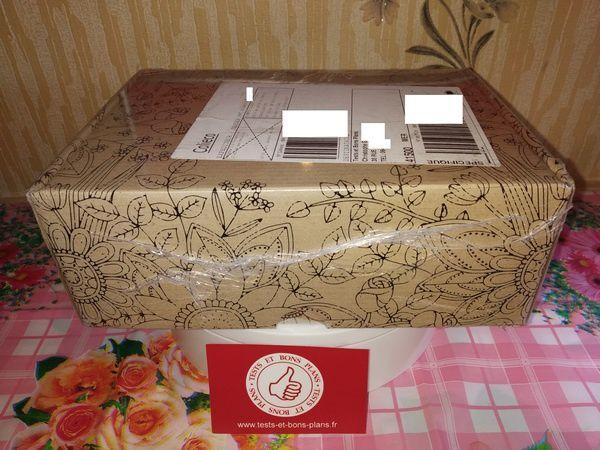 unboxing box mensuelle cosmétiques bio Belle au Naturel @ Tests et Bons Plans