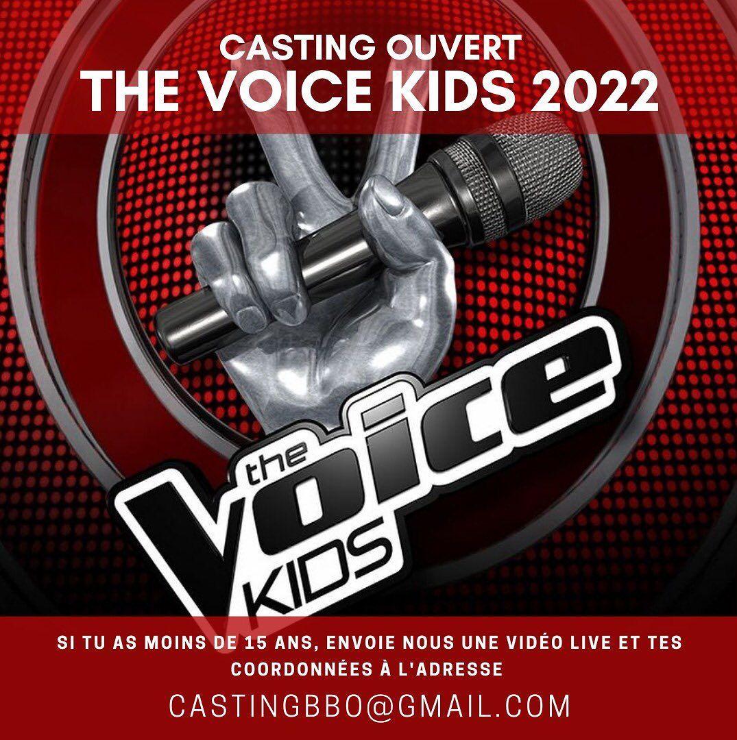 Le casting The Voice Kids 2022 est ouvert !