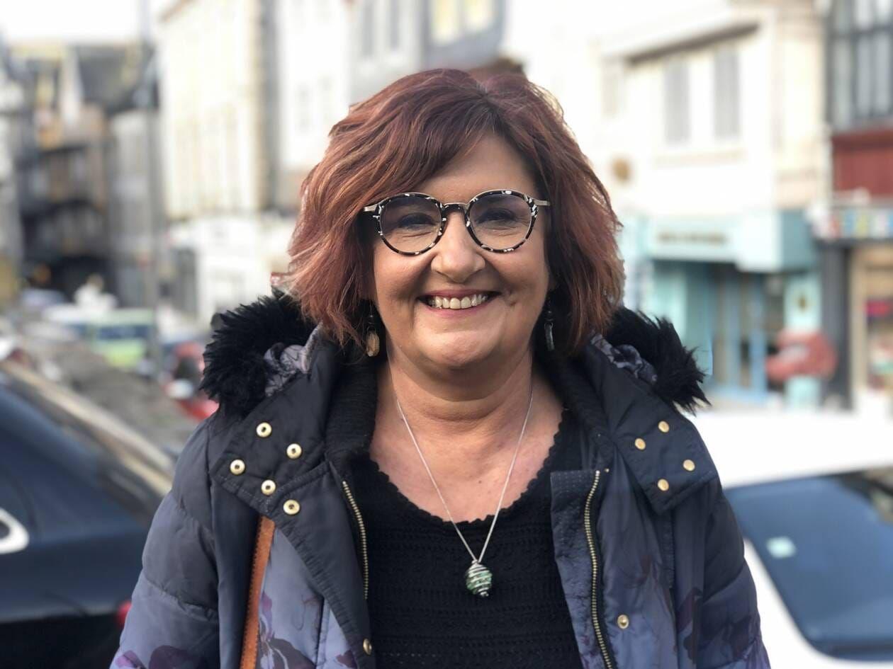 Longtemps déléguée syndicale chez Hop ! Morlaix et désormais adjointe aux commerces, Valérie Scattolin l'assure : « Sans le soutien de mon mari, rien de tout cela n'aurait été possible. » | OUEST-FRANCE