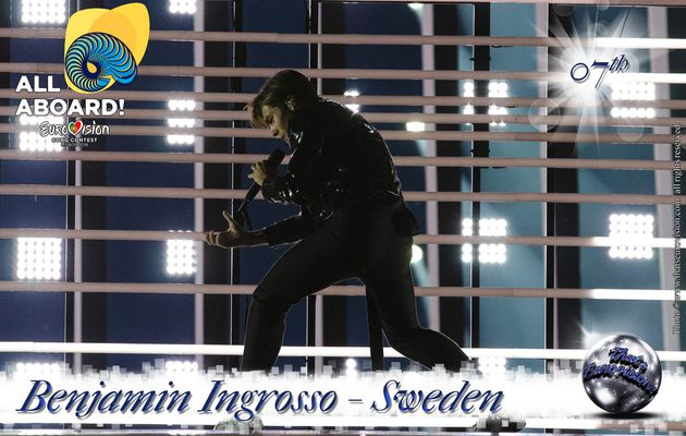 Sweden - Benjamin Ingrosso - 7th All Aboard!