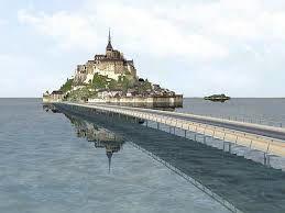 Qui veille sur le Mont Saint Michel ?Sa statue, ou un secret tellurique ?