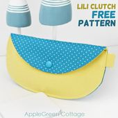 Clutch Purse Pattern - Free Pattern