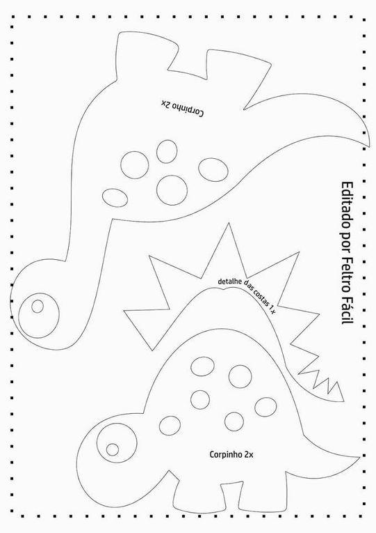 Marque page dinosaure