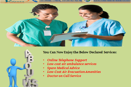Utilize Vedanta Air Ambulance Service in Ranchi with MD Doctors and Medical Team Support
