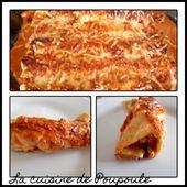 Wraps de dinde à la tomate en gratin - La cuisine de poupoule