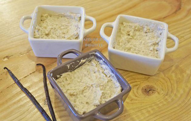 Riz au lait et son crémeux à la vanille recette de Mickael Ligey