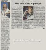 Pascale Lora Schyns dans la presse luxembourgeoise