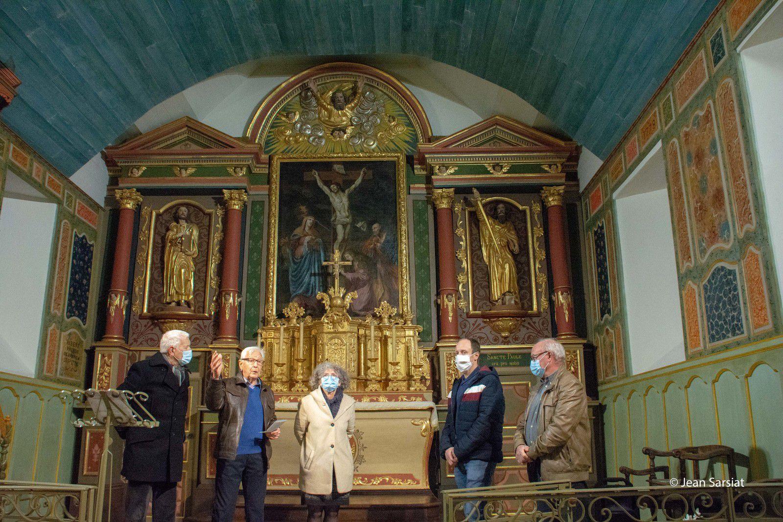 LAY-LAMIDOU : Après 10 ans de travaux, l'église remarquablement rénovée ouvre à nouveau ses portes
