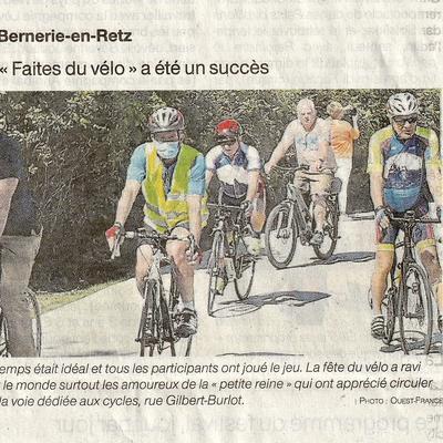 """La """"faites du vélo"""" à été un succès - La Bernerie en Retz"""