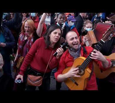 SEGUIR BAILANDO Manifestation 1er Mai Théâtre Sébastopol Lille avec la participation Estrella La Peli & Nelito