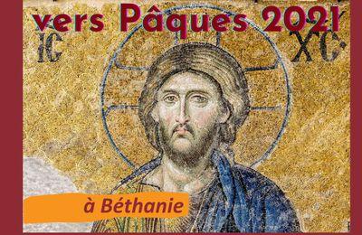 Offices de la semaine Sainte à Béthanie en 2021 en replay