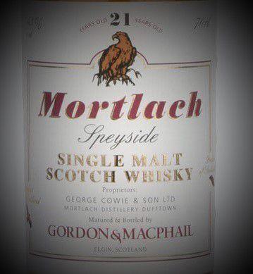 Mortlach 21Y Gordon & MacPhail.