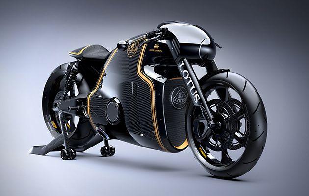 Innovation produit : La première moto Lotus C-01