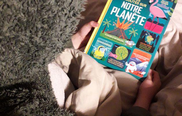 Chut les enfants lisent #196 : 100 infos insolites sur notre planète chez les éditions Usborne