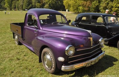 Peugeot 203 pick up customisée / Club Chevron à 0sny