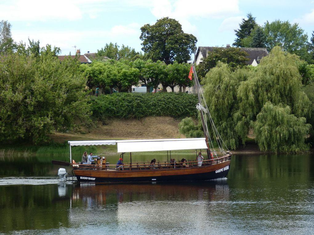 CARPE DIEM , vedette pour une visite sur la Dordogne  au départ de Bergerac le 19 juin 2020