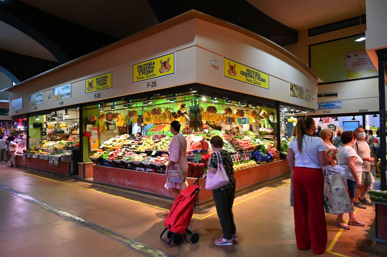 Andalousie 2021 : mercado municipal de Abastos ...
