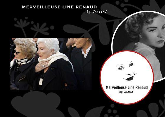 """PRESSE WEB: """"Mon Johnny"""": les mots bouleversants de Line Renaud"""