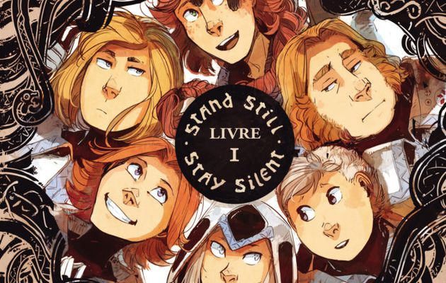 [REVUE BANDE DESSINEE] STAND STILL - STAY SILENT LIVRES I et II aux éditions AKILEOS