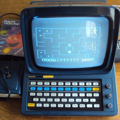 Videopac N60 Philips : mon minitel est une console de jeu !!!