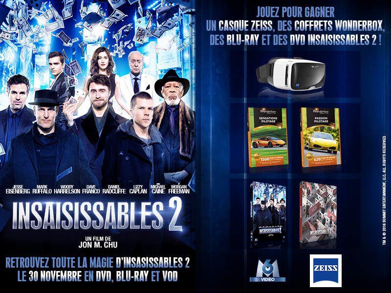 """CONCOURS DE NOEL EXCEPTIONNEL SUR """"INSAISISSABLES 2"""" !"""