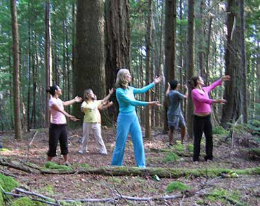 WHAT IS CHI KUNG? Intention, breathing, movement