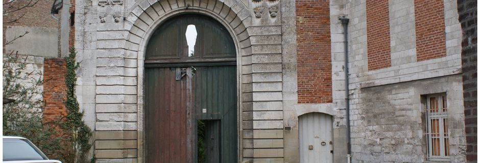 ABBEVILLE:restes d'anciennes fortifications?
