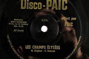 Disco- PAIC - Les compagnons de la discothèque - Les  Champs Elysées