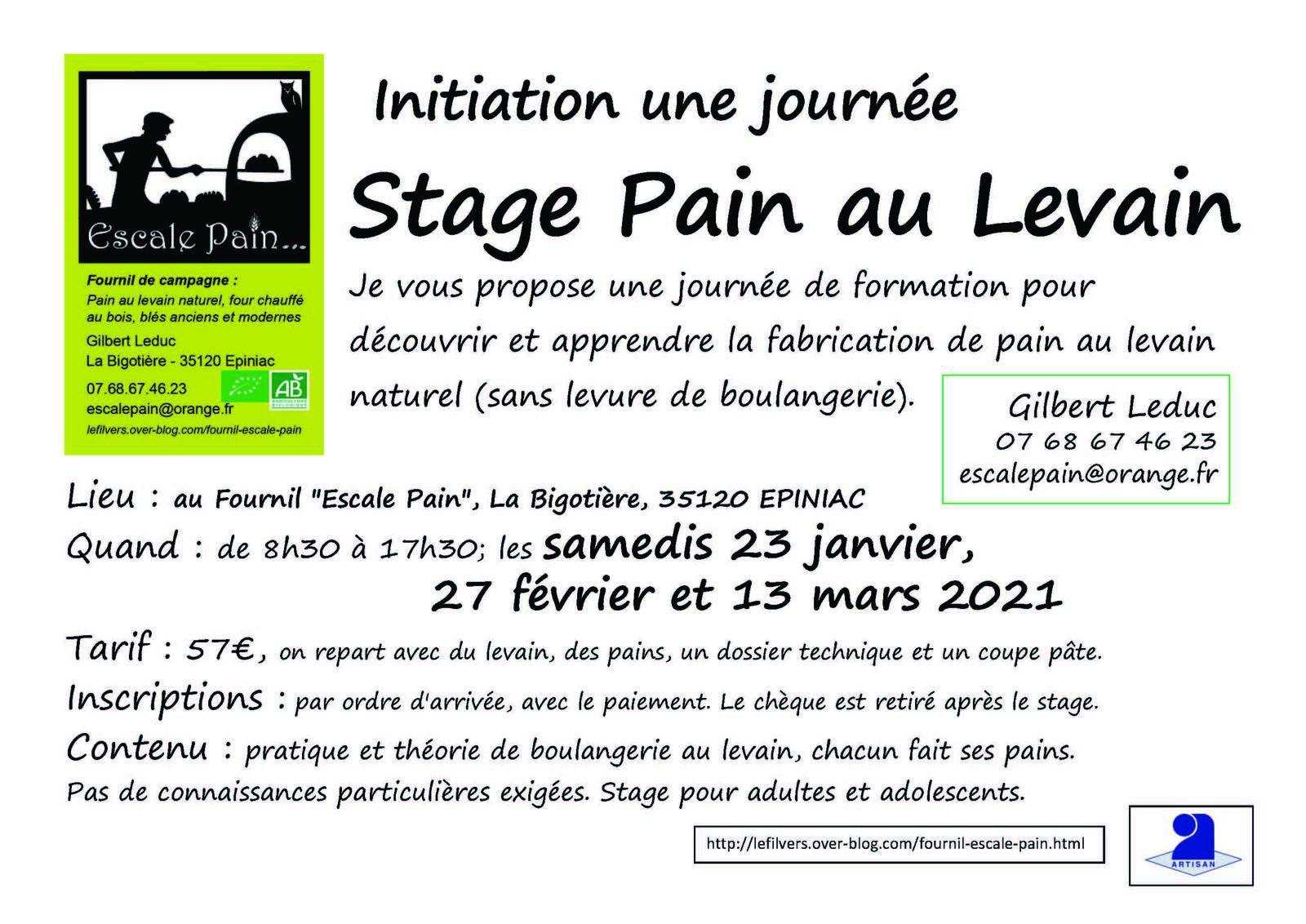 Escale Pain sur France 3 (26 avril 2021)