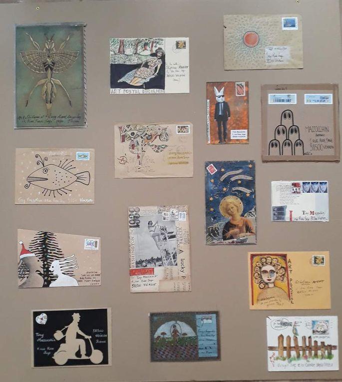 Mail art fait et reçu...