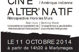 Relais Troubadours Oubliés, festival du film amérindien à Marly le 11 octobre 2014 avec le cmdh 57