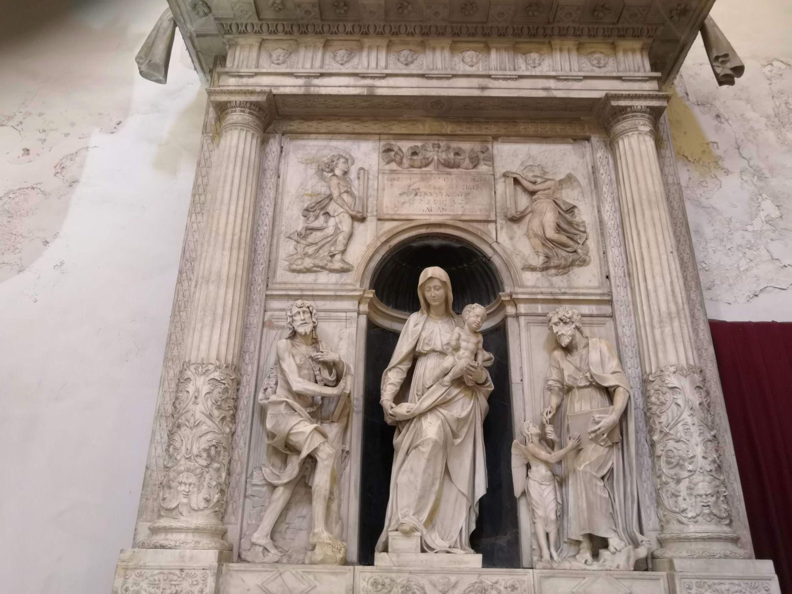 Giovanni da Nola (1488-1559), Cappella della Madonna della Neve