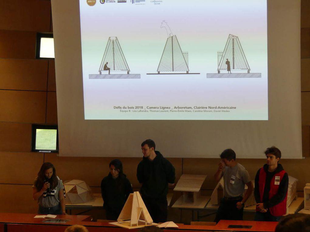 Les « Défis du bois 3.0 » vont au Musée