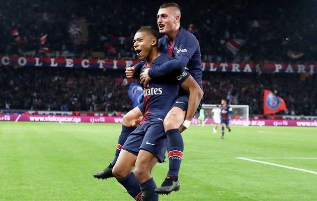 Le quadruplé de Mbappé permet à Paris de battre un record de plus de 80 ans face à Lyon  !!