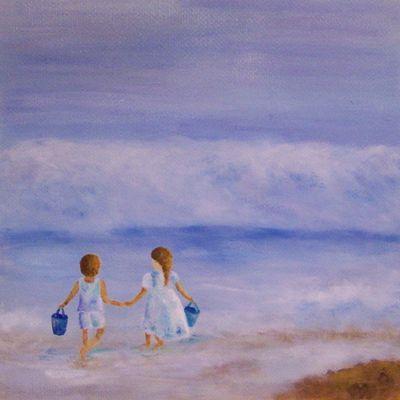 ... les pieds dans l'eau, la tête dans les nuages, ou sous le ciel bleu...