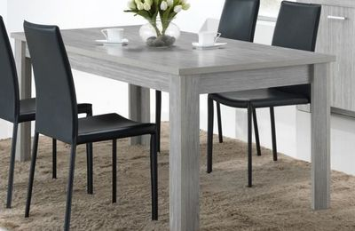 Table grise cdiscount