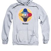 Yoma Text Adult Pull-Over Hoodie for Sale by Michael Bellon
