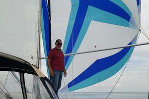 """La Rochelle sur le bateau d'Eric """"Solen II"""""""